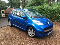 USED 2010 60 PEUGEOT 107 1.0 MILLESIM 3d 68 BHP £30 TAX POWER STEERING ELECTRIC WINDOW CENTRAL LOCKING ALLOYS SERVICE HIST