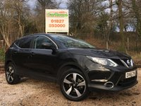 USED 2016 66 NISSAN QASHQAI 1.5 N-CONNECTA DCI 5dr 1 Owner, Sat Nav, £0 Tax
