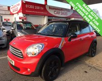 USED 2011 61 MINI COUNTRYMAN 2.0 COOPER D RARE AUTO 110 BHP *ONLY 44,000 MILES*