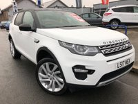 USED 2017 17 LAND ROVER DISCOVERY SPORT 2.0 TD4 HSE 5d AUTO 180 BHP PANORAMIC SUNROOF+LEATHER+SAT NAV+REAR PRIVACY GLASS