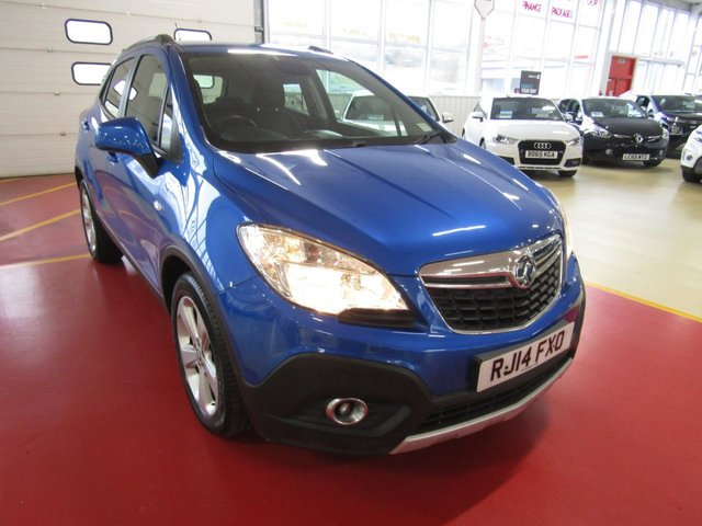 View our 2014 14 VAUXHALL MOKKA (104) 1.6 EXCLUSIV S/S 5d 113 BHP