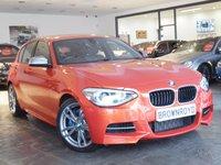 USED 2014 64 BMW 1 SERIES 3.0 M135I 5d AUTO 316 BHP ++LTHER+SATNAV+FBMWSH++