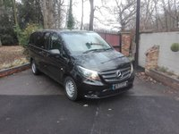 USED 2016 66 MERCEDES-BENZ VITO 2.1 114 BLUETEC DUALINER SWB COMPACT Air Conditioning, 5 Seats, Euro 6, One Owner