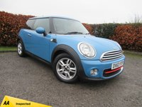 USED 2013 63 MINI HATCH ONE 1.6 ONE D 3d SERVICE HISTORY * 12 MONTHS MOT * BLUETOOTH