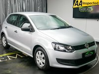 USED 2011 11 VOLKSWAGEN POLO 1.2 S 5d 60 BHP £0 DEPOSIT FINANCE AVAILABLE, 50+ MPG, CLIMATE CONTROL, CLOTH UPHOLSTERY, DAYTIME RUNNING LIGHTS, ELECTRIC WINDOWS, TRIP COMPUTER