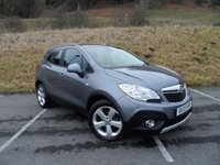 USED 2013 13 VAUXHALL MOKKA 1.7 EXCLUSIV CDTI S/S 5d 128 BHP ONE OWNER, FULL MAIN DEALER SERVICE HISTORY, LOW MILEAGE