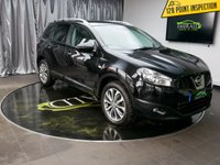 USED 2012 12 NISSAN QASHQAI+2 1.6 TEKNA IS PLUS 2 DCIS/S 5d 130 BHP £0 DEPOSIT FINANCE AVAILABLE, AIR CONDITIONING, BLUETOOTH CONNECTIVITY, CLIMATE CONTROL, CRUISE CONTROL, HEATED SEATS, PANORAMIC ROOF, REVERSE CAMERA, STEERING WHEEL CONTROLS, TRIP COMPUTER