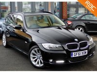 USED 2011 61 BMW 3 SERIES 2.0 320D SE TOURING 5d AUTO 181 BHP