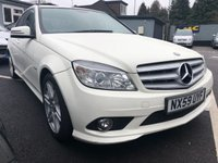 USED 2009 59 MERCEDES-BENZ C CLASS 2.1 C220 CDI BLUEEFFICIENCY SPORT 4d AUTO 170 BHP FULL SERVICE HISTORY