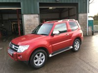 2008 MITSUBISHI SHOGUN 3.2 DI-D 4WORK WARRIOR 1d AUTO 160 BHP £6650.00