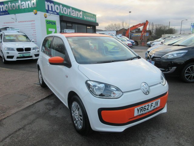 USED 2012 62 VOLKSWAGEN UP 1.0 MOVE UP 5d 59 BHP ** JUST ARRIVED** SERVICE HISTORY **