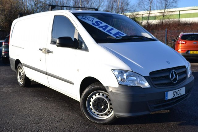 USED 2015 K MERCEDES-BENZ VITO 2.1 113 CDI 1d 136 BHP LONG WHEEL BASE LWB ~ TAILGATE 1 COMPANY OWNER FROM NEW ~ TAILGATE ~ 6 MONTHS WARRANTY