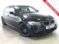 USED 2010 10 BMW 3 SERIES 2.0 320D M SPORT BUSINESS EDITION 4d AUTO 181 BHP Sat Nav/Light Leather Interior