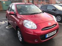USED 2013 13 NISSAN MICRA 1.2 ACENTA 5d AUTO 79 BHP ONLY 5799 MILES AUTO! SAT NAV, ALLOYS, AIR CON AND AUXILIARY INPUT!