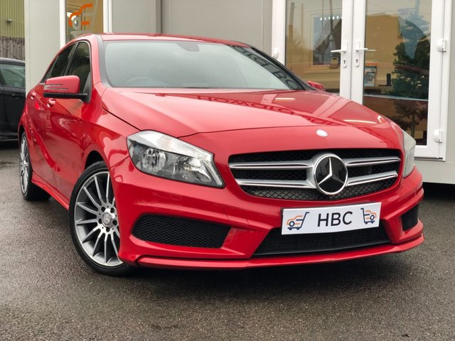 2014 14 MERCEDES-BENZ A CLASS 1.5 A180 CDI BLUEEFFICIENCY AMG SPORT 5d 109 BHP