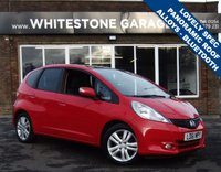 USED 2011 61 HONDA JAZZ 1.3 I-VTEC EX 5d 98 BHP STUNNING LOVELY SPEC INCLUDIC PANORAMIC GLASS ROOF, CRUISE CONTROL, RETRACTABLE MIRRORS,