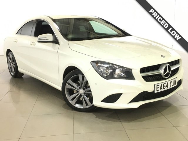 View our 2014 64 MERCEDES-BENZ CLA 2.1 CLA220 CDI SPORT NAV 4d AUTO 170 BHP