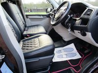 USED 2016 16 VOLKSWAGEN TRANSPORTER 2.0 T30 TDI P/V HIGHLINE BMT 1d AUTO 177 BHP Volkswagen T6 T32 180hp tdi 2016 4 Berth Pop-top Camper. 6 Seater. Blackberry.   2.0L Automatic DSG Factory Blue-motion Highline Window van.