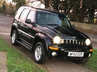 USED 2002 02 JEEP CHEROKEE 2.5 LIMITED CRD 5d 141 BHP
