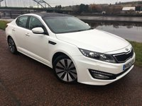 USED 2013 63 KIA OPTIMA 1.7 3 CRDI 4d 134 BHP ***HEATED AND COOLED SEATS***