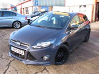 USED 2013 13 FORD FOCUS 1.0 ZETEC S S/S 5d 124 BHP