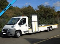 2008 CITROEN RELAY 2.2HDI 33 120BHP 6 WHEEL TRI AXLE LOW CHASSIS FLAT BED TROLLY CARRIER £8995.00