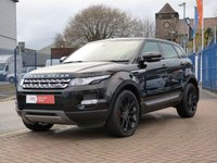 "USED 2013 63 LAND ROVER RANGE ROVER EVOQUE 2.2 SD4 PRESTIGE 5d AUTO  HUGE SPEC INCLUDING ~ PANORAMIC ROOF ~ 20"" BLACK ALLOYS ~ FULL LAND ROVER SERVICE HISTORY ~ 4X4 ~ SAT NAV ~ BLUETOOTH ~ CRUISE ~ DAB"