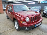 2011 JEEP PATRIOT 2.1 CRD SPORT PLUS 5d 161 BHP £5490.00
