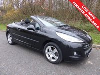 USED 2011 60 PEUGEOT 207 1.6 CC SPORT 2d 120 BHP All retail cars sold include -3 months warranty, HPI Certificate, 12 months AA breakdown cover, pre-delivery workshop inspection and a minimum 6 months Mot.