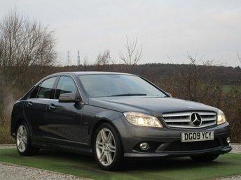 2009 MERCEDES-BENZ C CLASS 2.1 C200 CDI SPORT 4d AUTO 135 BHP £6790.00
