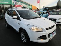 USED 2013 13 FORD KUGA 2.0 TITANIUM TDCI 2WD 5d 138 BHP ** 01543 379066 ** JUST ARRIVED ** FULL SERVICE HISTORY **DIESEL