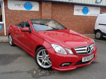 2010 MERCEDES-BENZ E CLASS 3.0 E350 CDI BLUEEFFICIENCY SPORT 2d AUTO 231 BHP £12000.00