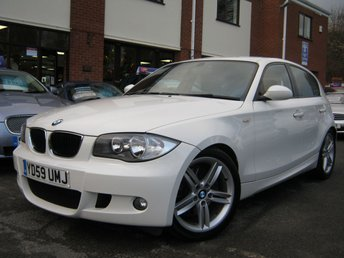 2009 BMW 1 SERIES 2.0 123D M SPORT 5d 202 BHP