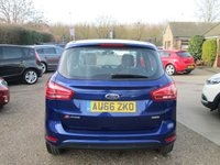 USED 2016 66 FORD B-MAX 1.0 ZETEC 5d 125 BHP SLIDING REAR DOORS FOR EASY ACCESS TO BACK SEATS