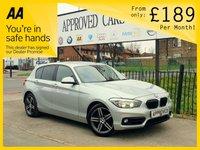 2015 BMW 1 SERIES 2.0 118D SPORT 5d 147 BHP £11000.00
