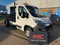 USED 2017 17 CITROEN RELAY 2.2 (EURO 6) 35 L2 HDI TIPPER 129 BHP 1 OWNER LOW MILAGE SAVE MONEY ON A NEW VAN !!!!!!