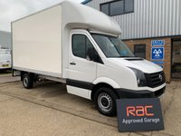 USED 2016 16 VOLKSWAGEN CRAFTER 2.0 CR35 TDI C/C 1d 109 BHP 1 OWNER LOW MILAGE SAVE MONEY ON A NEW VAN !!!!!!
