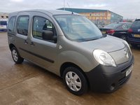 USED 2010 10 RENAULT KANGOO 1.6 EXTREME 5d 90 BHP WHEEL CHAIR ACCESS  VEHICLE