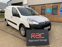 2017 CITROEN BERLINGO 1.6 625 ENTERPRISE L1 BLUEHDI 1d 74 BHP £8495.00