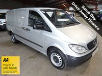 USED 2010 10 MERCEDES-BENZ VITO 2.1 109 CDI LONG LWB  VAN  95 BHP '' YOU'RE IN SAFE HANDS  ''  WITH THE AA DEALER PROMISE