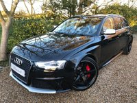 2015 AUDI A4 4.2 RS4 AVANT FSI QUATTRO LIMITED EDITION 5d AUTO 444 BHP £SOLD
