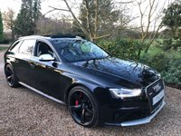 USED 2015 15 AUDI A4 4.2 RS4 AVANT FSI QUATTRO LIMITED EDITION 5d AUTO 444 BHP
