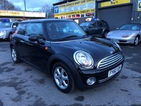 USED 2010 60 MINI HATCH ONE 1.6 ONE 3d 98 BHP IN BLACK WITH ONLY 69000 MILES IN IMMACULATE CONDITION. APPROVED CARS ARE PLEASED TO OFFER THIS MINI HATCH ONE 1.6 ONE 3d 98 BHP IN BLACK WITH ONLY 69000 MILES IN IMMACULATE CONDITION INSIDE AND OUT WITH A GOOD SERVICE HISTORY AN IDEAL MINI RUNAROUND IN GREAT CONDITION.
