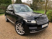 USED 2018 67 LAND ROVER RANGE ROVER 4.4 SDV8 AUTOBIOGRAPHY 5d AUTO 339 BHP