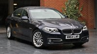 2015 BMW 5 SERIES 3.0 530D LUXURY 4d AUTO 255 BHP £14750.00