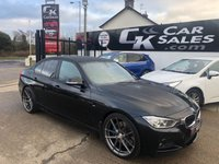 2015 BMW 3 SERIES 3.0 330D M SPORT 4d AUTO 255 BHP £SOLD