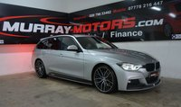 2017 BMW 3 SERIES 320D M SPORT TOURING *Genuine M Performance kit and Wheels* £20995.00