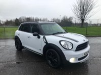 USED 2015 15 MINI COUNTRYMAN 1.6 COOPER D ALL4 5d 112 BHP 4WD MODEL WITH FSH
