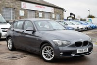 2014 BMW 1 SERIES 1.6 116D EFFICIENTDYNAMICS 5d 114 BHP £10475.00