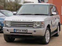 2004 LAND ROVER RANGE ROVER 4.4 V8 VOGUE 5d 282 BHP £4500.00